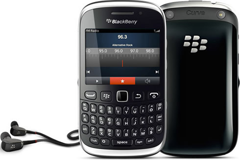 T-Mobile BlackBerry Curve 9315