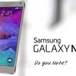 Samsung Unveils Galaxy Note 4 LTE-A
